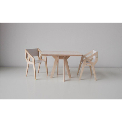 Pink Different Dining Set