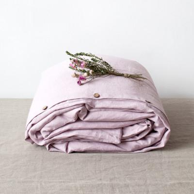 Bettdeckenbezug   Rosa Lavendel