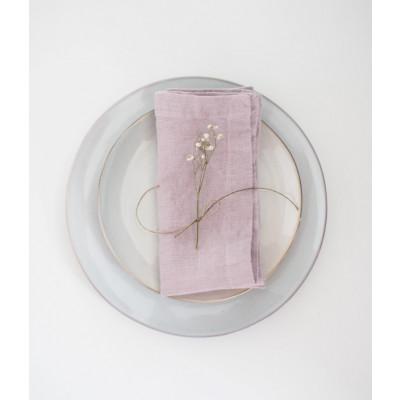 2er-Set Servietten | Rosa Lavendel