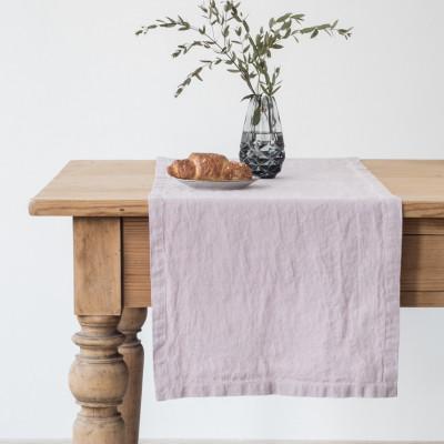 Tischläufer 150 x 40 cm | Rosa Lavendel