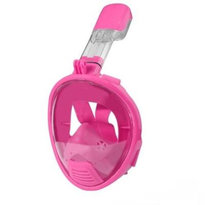 Full Face Snorkel Mask for Kids | Pink