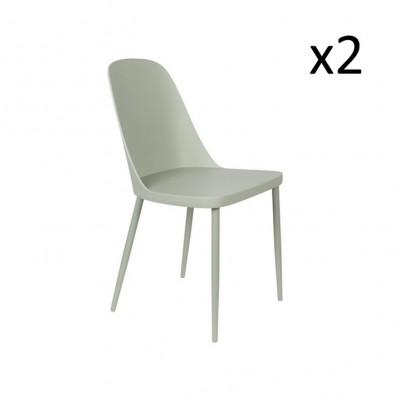 Stuhl Pip - 2er Set | Mint