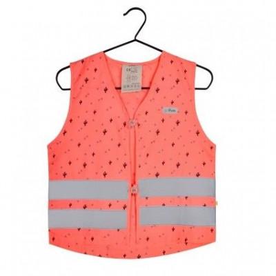 Fluo Vest Girls Pippa | Coral