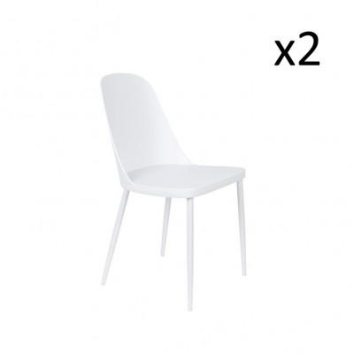 Stuhl Pip - 2er Set | Weiß