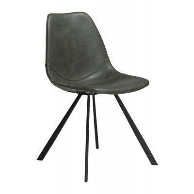 Chair Pitch Artificial Leather | Vintage Green