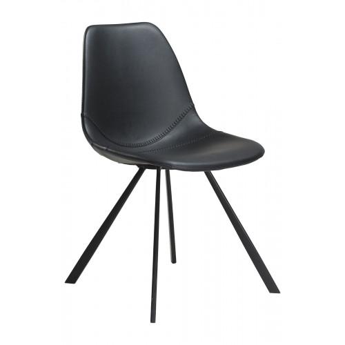 Chair Pitch Kunstleder | Schwarz