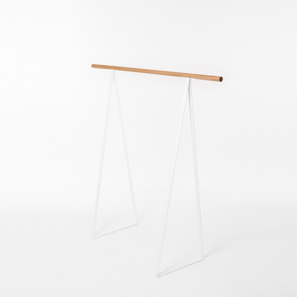 Clothes Rack TRIANGEL | White