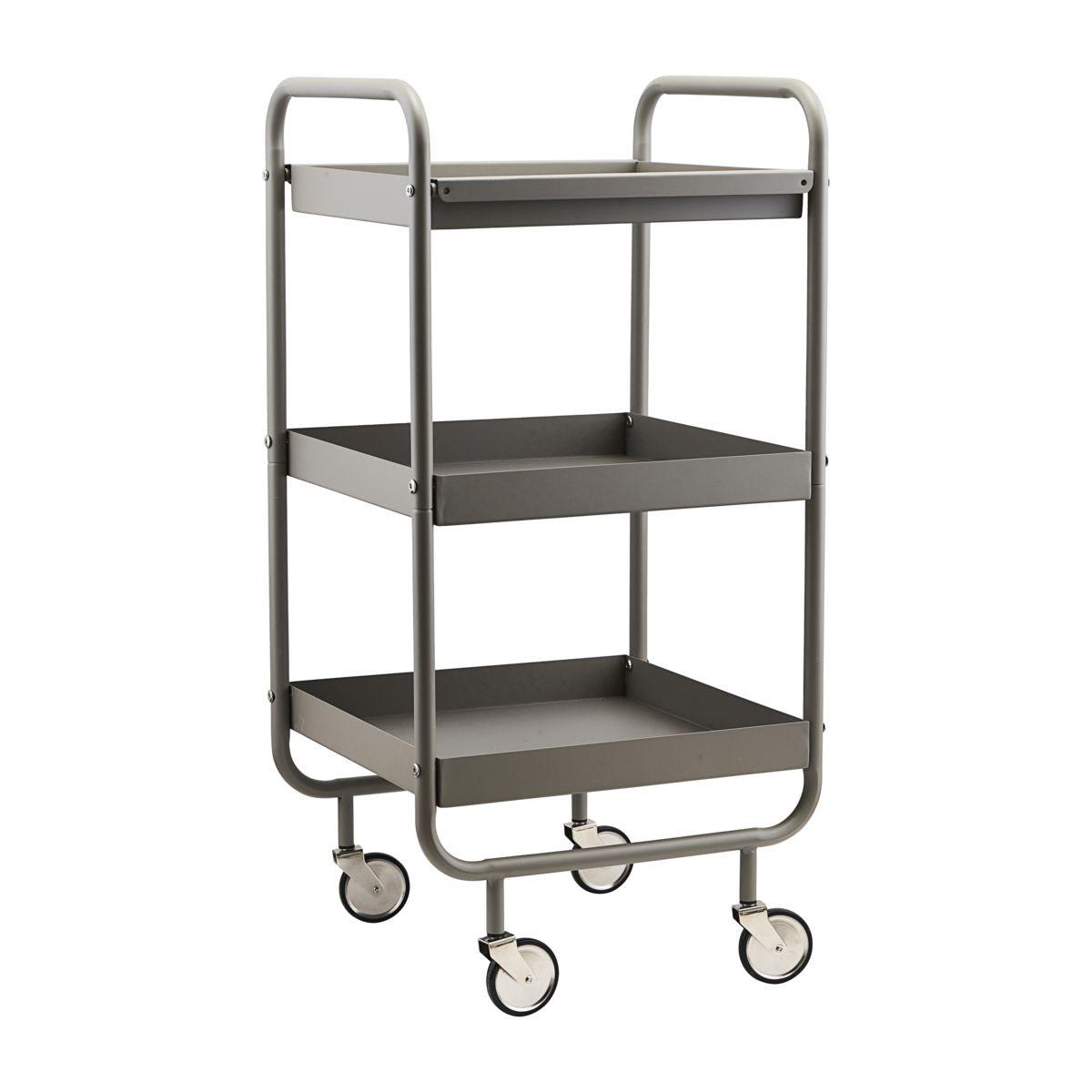 Trolley Roll High   Grey