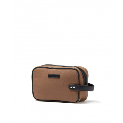 Brendon Toiletry Bag | Taupe