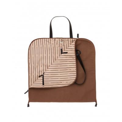 Brendon Garment Bag | Taupe