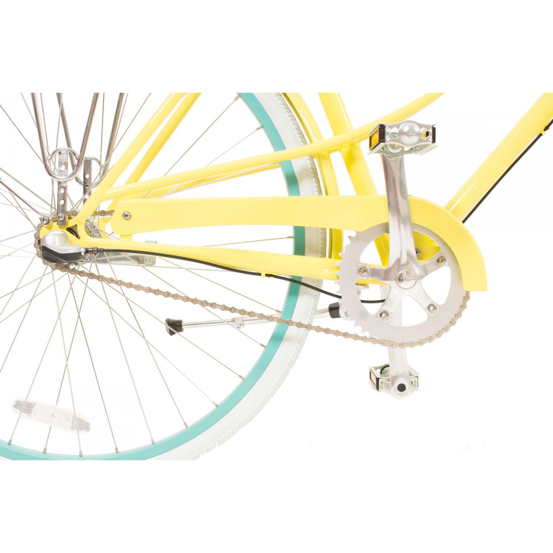Polka City Bike For Ladies   Lemonade