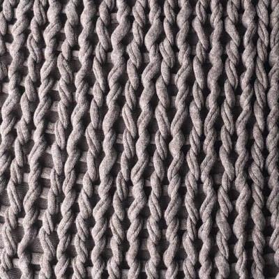 Plaid Knit Handmade | Taupe