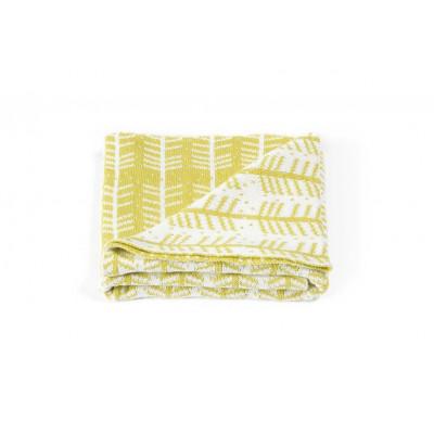 Blanket | Feathers Yellow