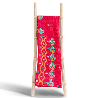 Plaid Handmade Upcycled Khanta