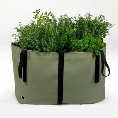 Pflanztasche 'Bag' | Waldgrün
