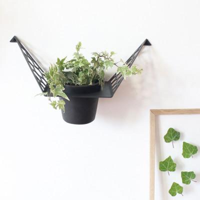 Plant Hanger Hex | Dark Grey