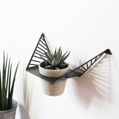 Plant Hanger Line | Dark Grey