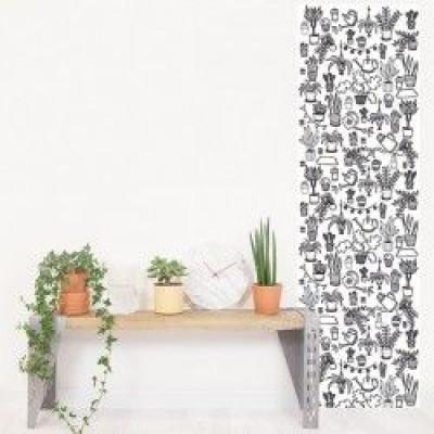Eva Mouton Coloureable Wall Paper | Plant L
