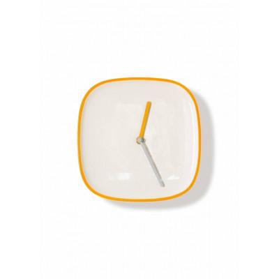 Plate Clock   Yellow