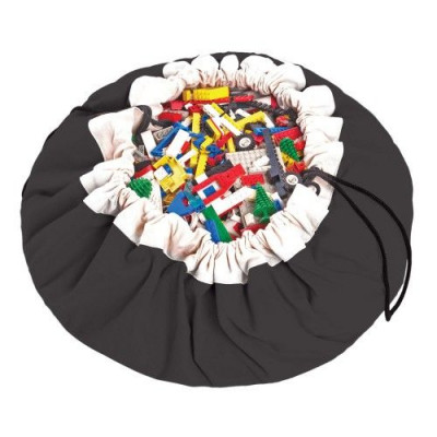 Spielzeug-Aufbewahrungstasche | Schwarz