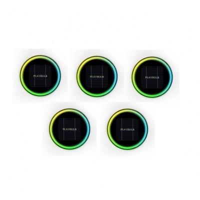 PLAYBULB Garden   Bluetooth Solarbetriebene LED-Gartenleuchte   5er-Set