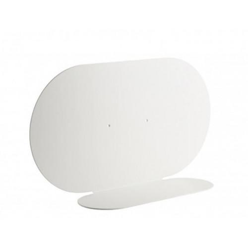 Shelf Aureole Horizontal   White
