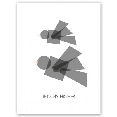 Higher Black Print