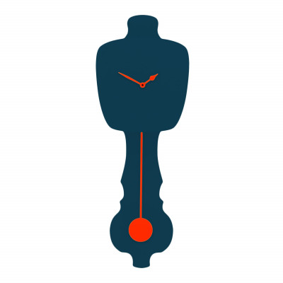 KLOQ Clock | Dark Blue