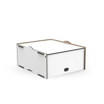 Einseitige Box Pop 30x36.5x16 cm | Weiß