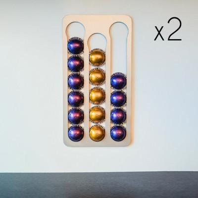 Kapselhalter Pody für Nespresso Vertuo Klebstoff | 2er-Set