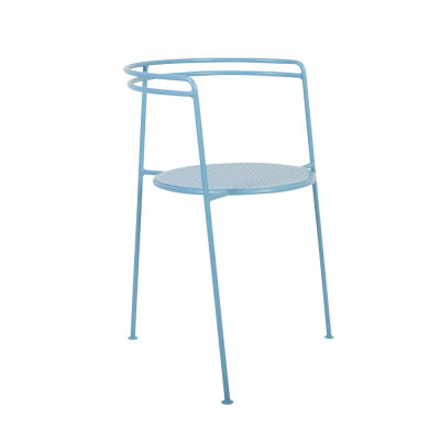 Speisestuhl-Punkt | Blau