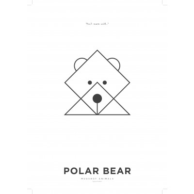 Poster A3 | Polar Bear