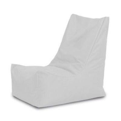 Lounge Sitzsack Athen   Weiß