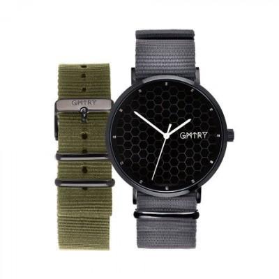 The Polygon Series Black   Grey & Khaki