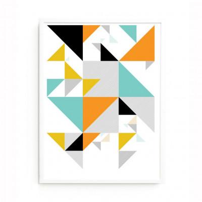 Polygon-Detaildruck