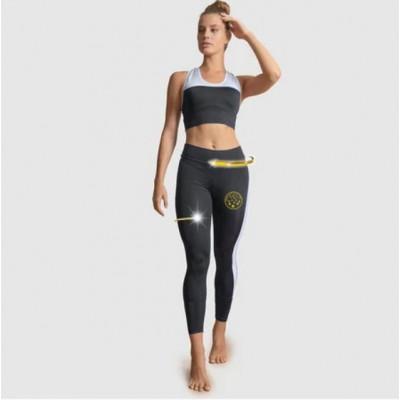Sport BH und Legging Set 7055 7056 | Schwarz-Weiß