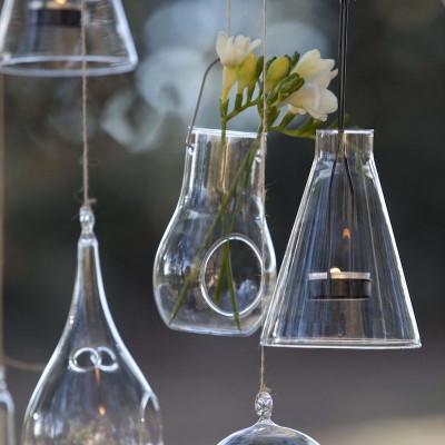 Glas-Hängekerzenhalter | Lampe