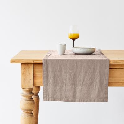 Tischläufer 150 x 40 cm | Portobello Grau
