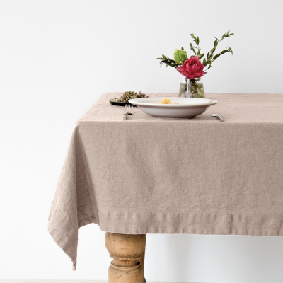 Tischdecke 200 x 140 cm | Portobello Grau