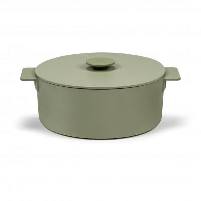 Pot Surface Enamel | Green-29 cm