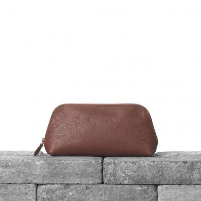 Leather Pouch   Cognac