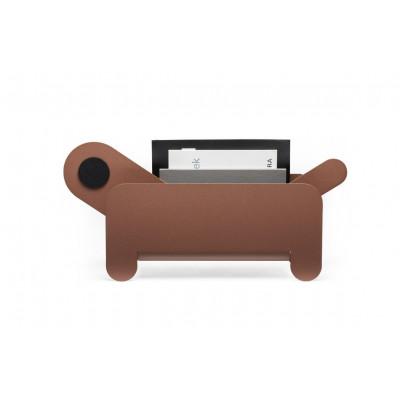 Zeitungsständer Paper Pet | Braun