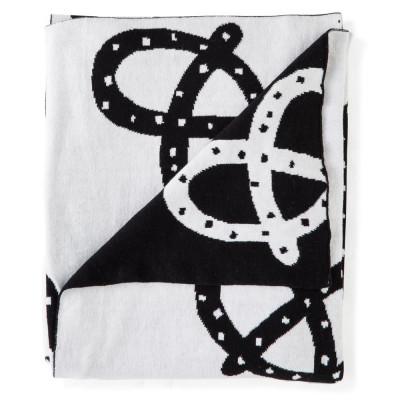 Baby Blanket | Pretzel Mono