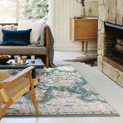 Chart of the World Carpet
