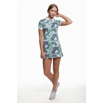 Polo Dress | Tropic Leaves