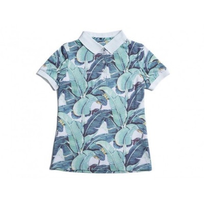 Polo Shirt | Tropic Leaves