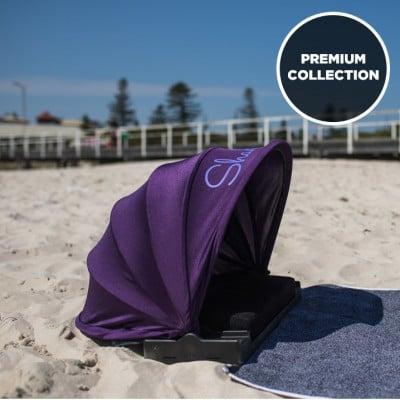Sonnenschutz Premium mit Extras | Lila