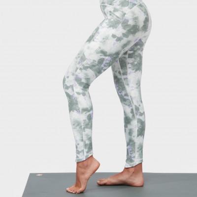 Legging Presence | Camo Dye Greens