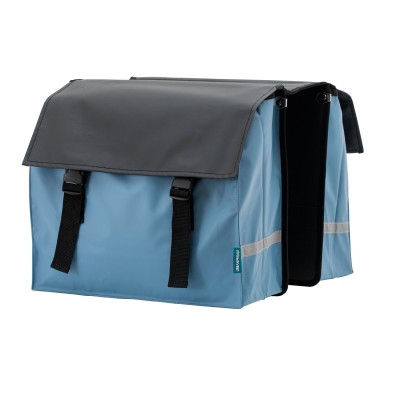 Bicycle Bag | Black & Jeans Blue