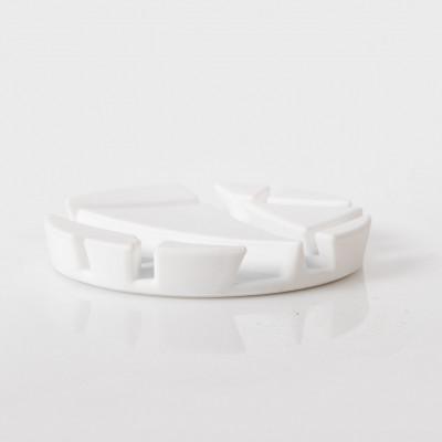 4-Set Untersetzer Prop | Weiß